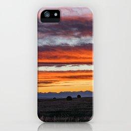 Gallatin Valley iPhone Case
