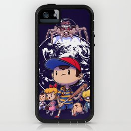Save The World iPhone Case