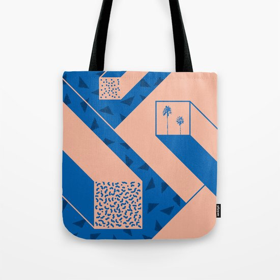 palm geometry Tote Bag