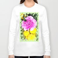 blossom Long Sleeve T-shirts featuring Blossom by Art-Motiva