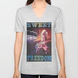 Sweet Freedom Unisex V-Neck