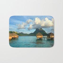 Bora Bora Tahiti Bungalow Bath Mat