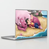 steven universe Laptop & iPad Skins featuring Steven Universe by toibi
