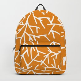 Branches - Orange Backpack