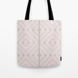 MONO:CHROMA Geometrica Earthy Pink II Tote Bag