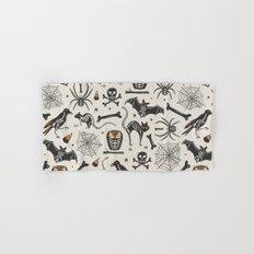 Halloween X-Ray Hand & Bath Towel