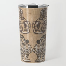 Stone Tigers Travel Mug