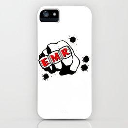 EMR Crew Tee Original Logo Tee iPhone Case