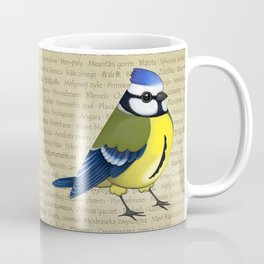 Pretty cyanistes Coffee Mug