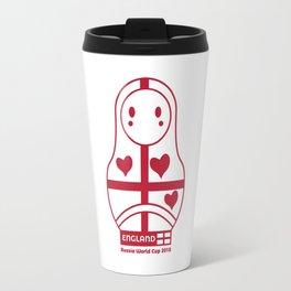 Matrioska England | Russia World Cup 2018 Travel Mug