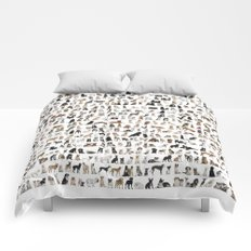 Dogs, Dogs and dogs Comforters