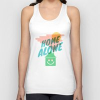 home alone Tank Tops featuring Home Alone by Nick Nelson