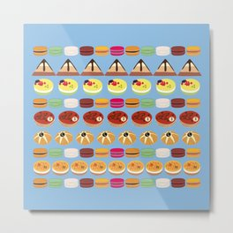 Pies & Cakes Metal Print