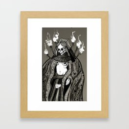 Our lady of the Gamble Framed Art Print