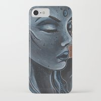 "indigo iPhone & iPod Cases featuring Indigo by Barbora ""Mad Alice"" Urbankova"