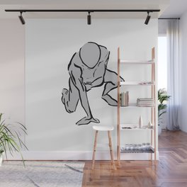 Hero Form Wall Mural
