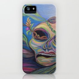 Moth by the Crescent iPhone Case