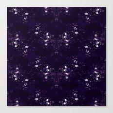 Tiles & Motifs - Purple Night Canvas Print