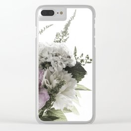 for the love of flowers 1 Clear iPhone Case