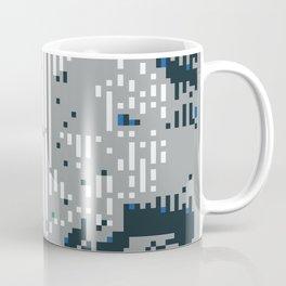 8bit lines Coffee Mug