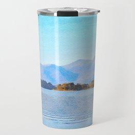Mountains Behind Derwentwater, Lake District, Cumbria, UK Travel Mug