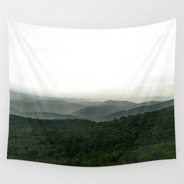 Green Mountain Majesties Wall Tapestry