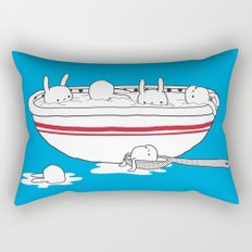 Bunny Soup Rectangular Pillow