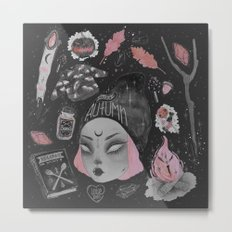 Magical ϟ Autumn Metal Print