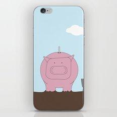 Moneybox iPhone & iPod Skin