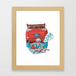 Strong Driver Framed Art Print