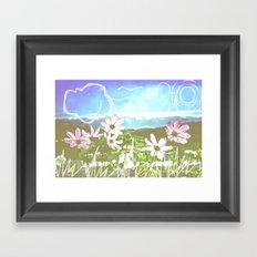 Colorado Sketches Framed Art Print
