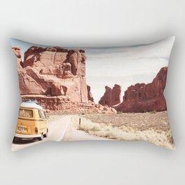 Desert Road Trip Rectangular Pillow