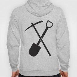 shovel and pickaxe Hoody