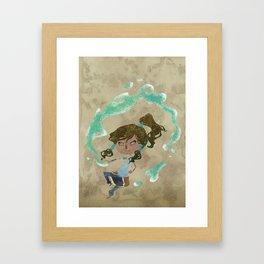Chibi Korra Framed Art Print
