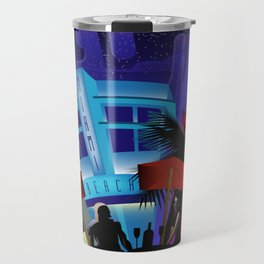 Miami Beach Travel Mug
