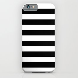 Abstract Black and White Stripe Lines 8 iPhone Case