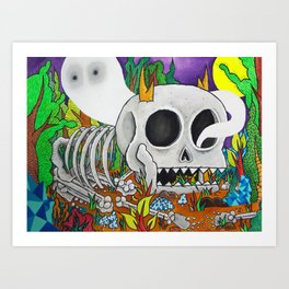 Some Spirits Never Die Art Print