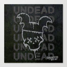 UNDEAD - BATS DAY XX Canvas Print