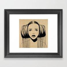 Star Princess Framed Art Print