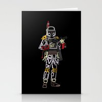 boba Stationery Cards featuring Boba Font by Fabian Gonzalez
