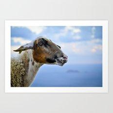 Goating Filfla Art Print