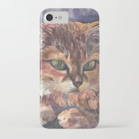 meow iPhone & iPod Cases featuring Meow by Emma Reznikova