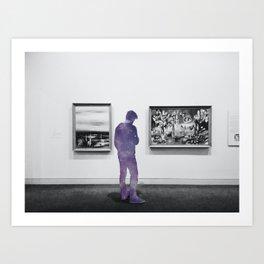 follow me to mars Art Print