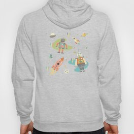 Robots in Space Hoody