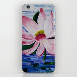 Lily Upon the Waters iPhone Skin