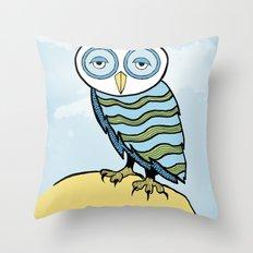 AL the Owl Throw Pillow