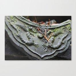 Chinese Dragon Tile Canvas Print