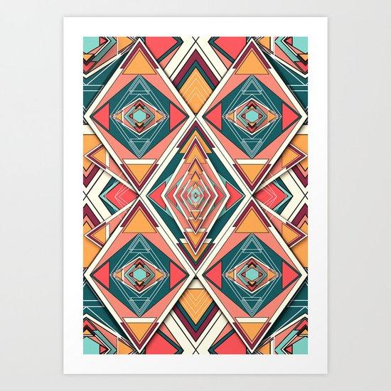 Try me Art Print