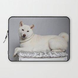 Cream Shiba Inu Dog Laptop Sleeve