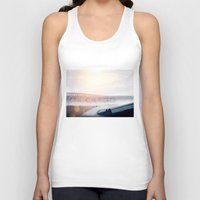 plane Tank Tops featuring Cargo Plane by Anton Watts